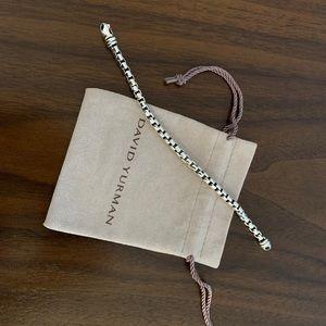 David Yurman Large Box Link Bracelet